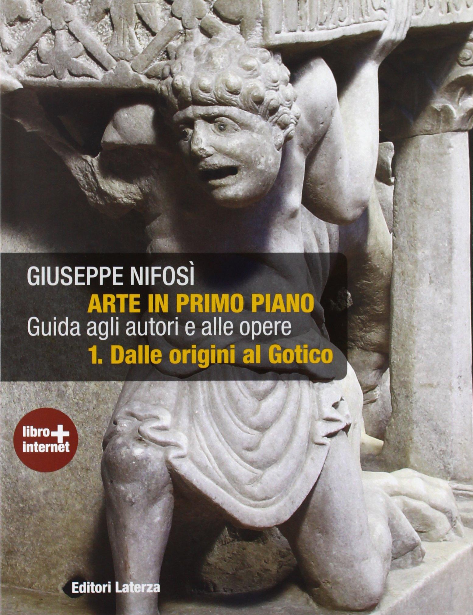 Copertina del libro Arte in primo piano di Giuseppe Nifosì