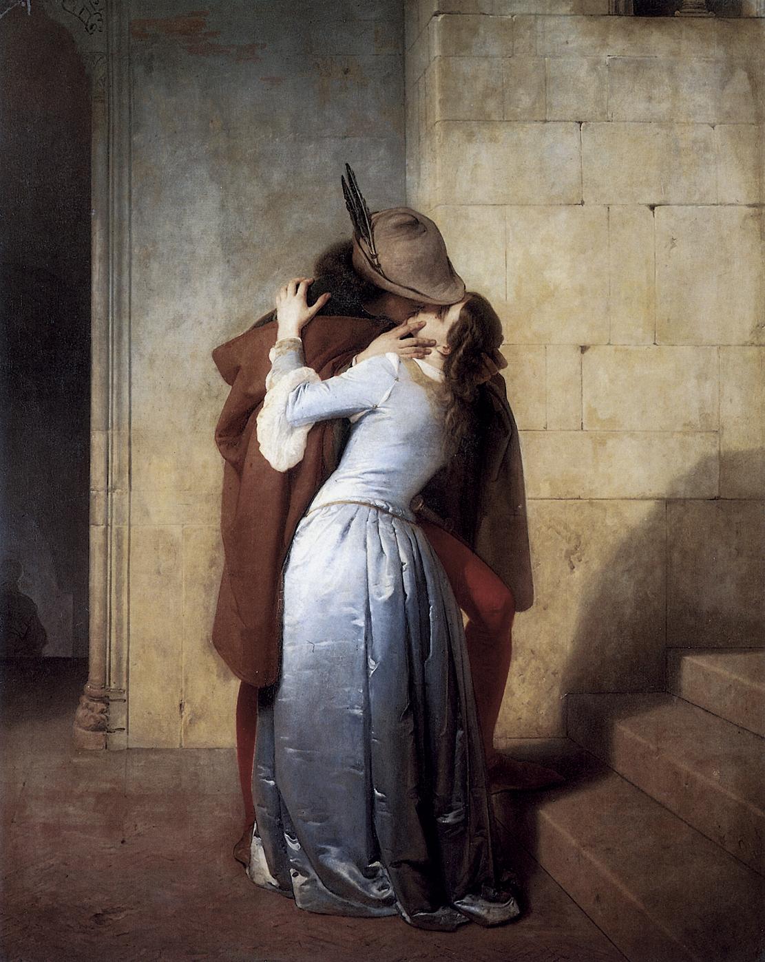 Il bacio di Francesco Hayez: amore e libertà - Arte Svelata