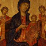 Le Divine Maestà di Cimabue, Duccio e Giotto