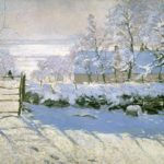 Neve sulle tele(sinfonie di bianchi)