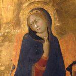 L'Annunciazionedi Simone Martini