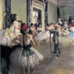 La lezione di danza di Degas