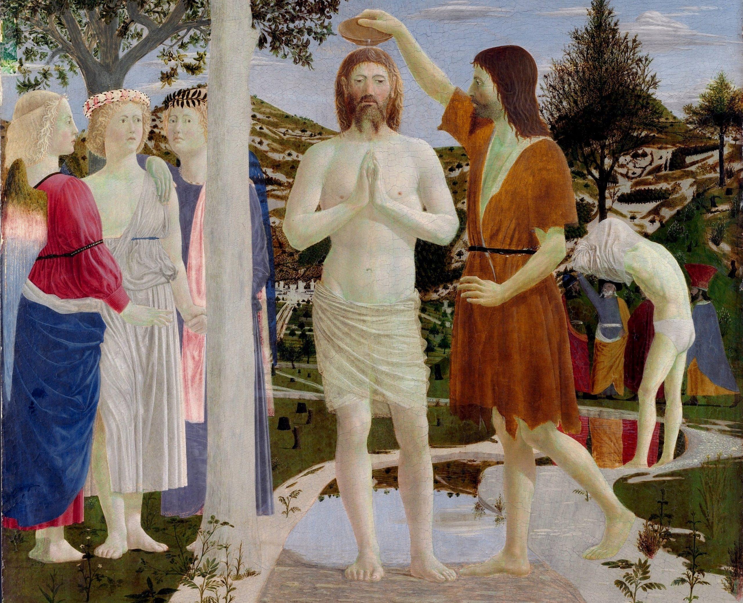 Il Battesimo di Cristo di Piero della Francesca - Arte Svelata