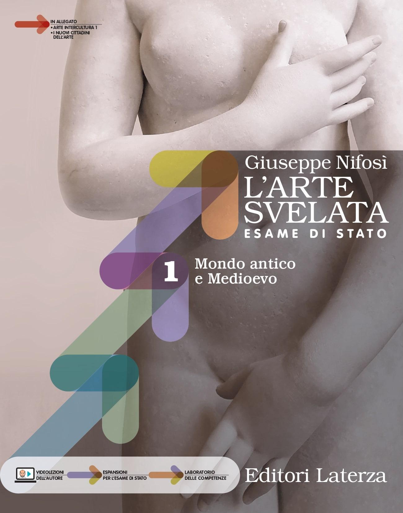 Copertina del libro L'arte svelata di Giuseppe Nifosì