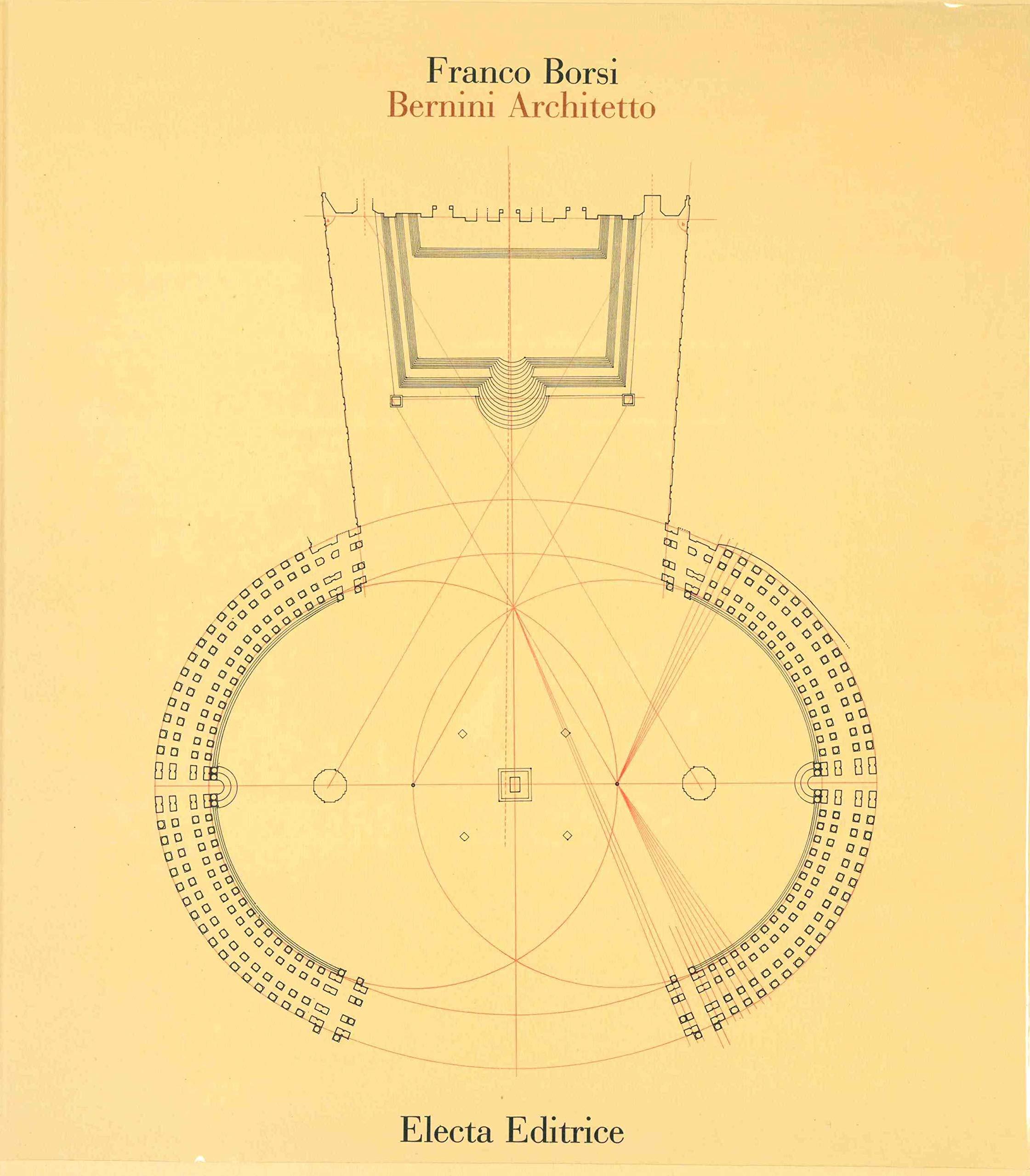 Copertina del libro Bernini architetto di Franco Borsi
