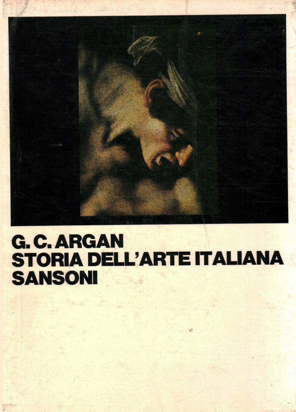 Copertina del libro Storia dell'arte italiana di Giulio Carlo Argan